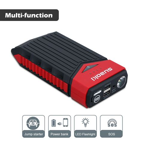 jump start with battery charger portable car jump starter 12000mah auto battery start