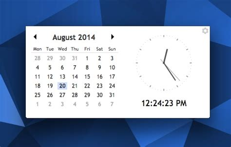 desktop calendar clock app for chrome and chrome os omg