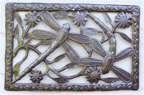 backyard wall decor dragonfly outdoor wall decor by beyond borders