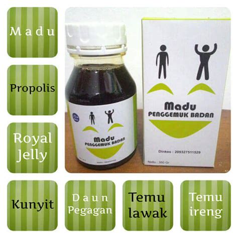 Madu Penggemuk Badan Asli madu penggemuk badan solusi madu herbal penambah berat badan