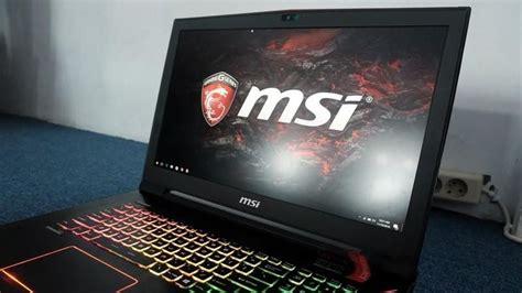 Msi Gl62m 7rdx 2082xid by 5 Rekomendasi Laptop Gaming Msi Terbaik 2018 Beli Deh