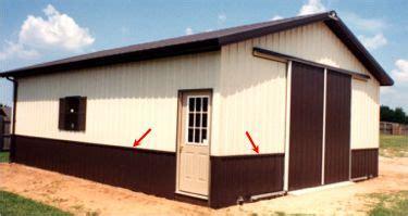 Exterior Wainscoting Higgins Sons Buildings Wainscot Panels