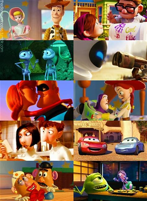 this couple really really loves disney pixar couples