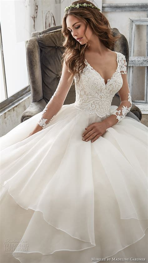 hochzeitskleid a linie prinzessin morilee by madeline gardner spring 2017 wedding dresses