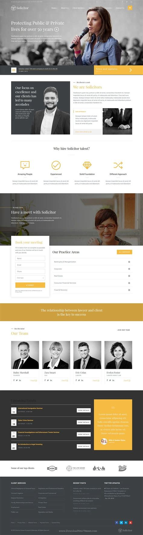 bootstrap templates for lawyers 17 best ideas about government website on pinterest