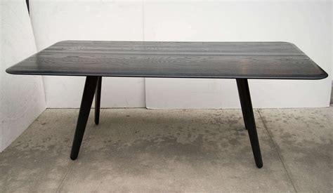 Tom Dixon Dining Table Tom Dixon Modernist Wood Slab Dining Table Desk At 1stdibs