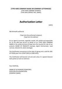 Authorization Letter Format University distributor letter sample distributor dealer authorization letter
