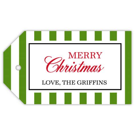 stripe color choice merry christmas gift tags paperstyle