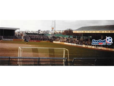 plymouth cgrounds home park home to plymouth argyle football ground map