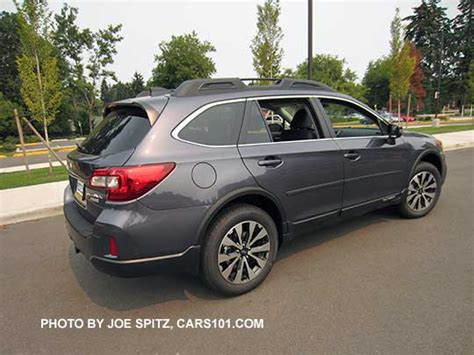 grey subaru outback 2016 outback specs options colors prices photos and more