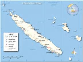 new caledonia world map political map of new caledonia nations project