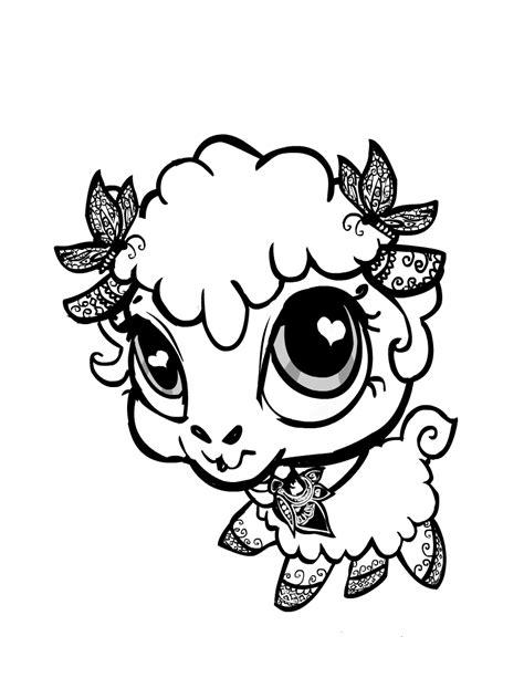 imagenes de animales bonitos para colorear dibujos de animales bonitos para colorear imagui
