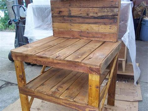 potting bench from pallets diy recycled pallet potting bench 101 pallets