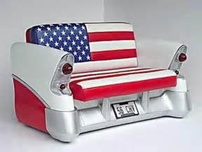 unique furniture with old cars concept furniture design