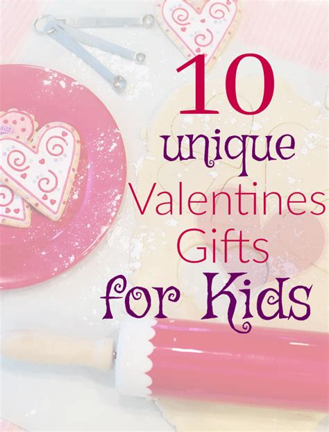 10 unique valentine gifts for kids so easy being green