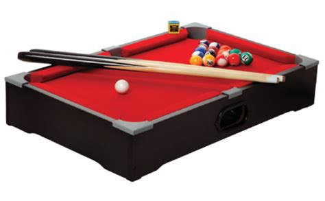 tabletop pool table toys r us espn 174 pool table portable 20 quot bundle 13 95 70 value
