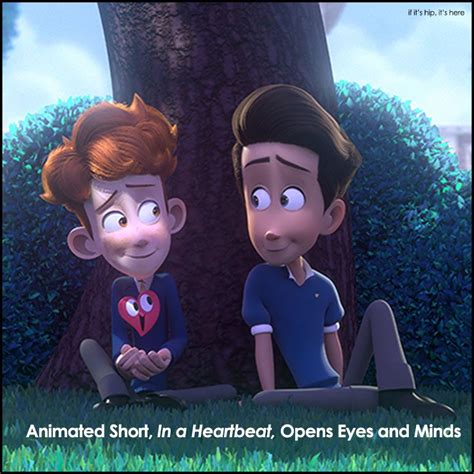 in a in a heartbeat animated on if it s hip it s here