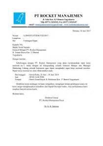 contoh surat undangan rapat pertemuan lengkap