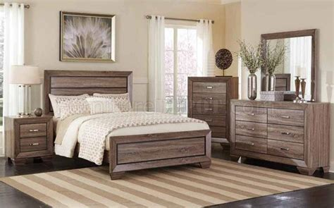 Coaster King Bedroom Set by Kauffman 204191 Bedroom Set By Coaster W Options