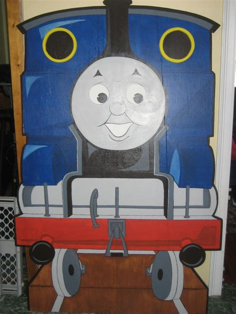 thomas the tank headboard completed thomas the train headboard for my nephew s 3rd