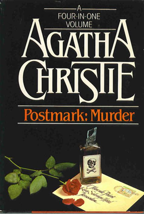 Novel Pembunuhan Di Mesopotamia Murder In Mesopotamia Agatha Christie postmark murder four in one volume by agatha christie reviews discussion bookclubs lists