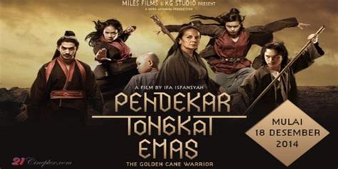 judul film laga seru pendekar tongkat emas kembalinya film silat lokal ke