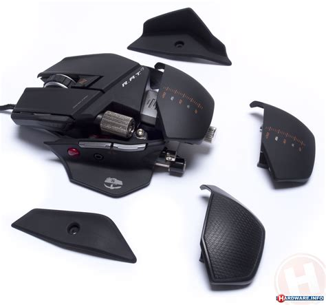 Mouse Cyborg Rat 7 13 gaming mice reviewed cyborg rat 7 hardware info