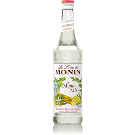 mojito cocktail mix monin mojito mix syrup 750ml