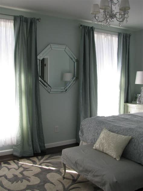 paint color topsail from sherwin williams paint the curtains are seafoam from walmart paint