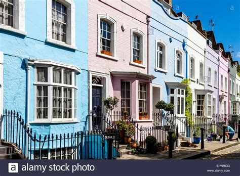 house to buy in london colourful houses off the king s road chelsea london england stock photo royalty