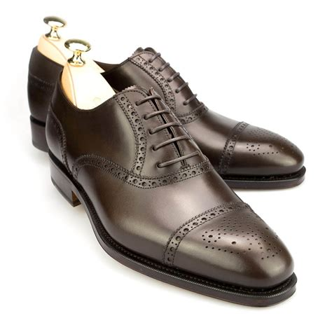 Brogue Oxfords semi brogue oxford shoes carmina