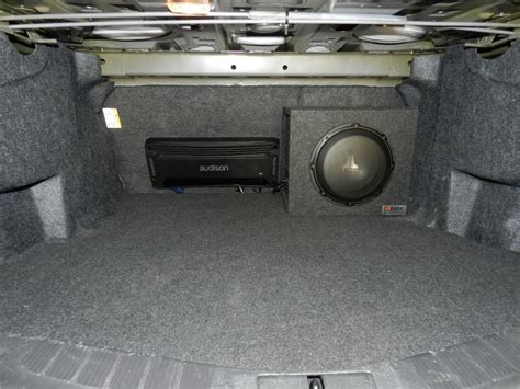 boat rs victoria ford fusion audio upgrade on a budget for hanover client