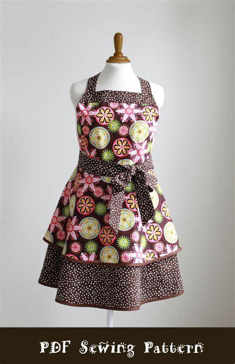 apron pattern plus size plus size apron sewing pattern pdf women s full and half