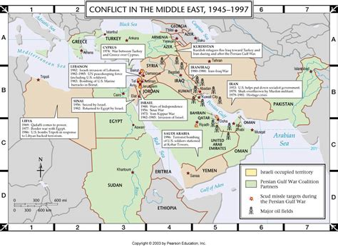 atlas map conflict   middle east