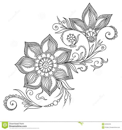 india pattern coloring page pattern for coloring book floral elements in indian style