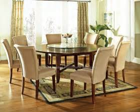 round dining table set with lazy susan download