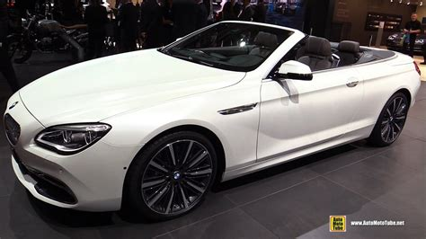 Bmw 650 Convertible 2017 Bmw 650i Convertible Exterior And Interior