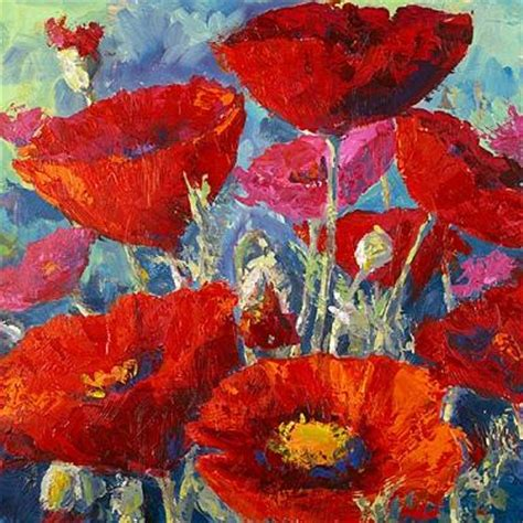 acrylic painting a how to paint poppy flowers with acrylic paint and a