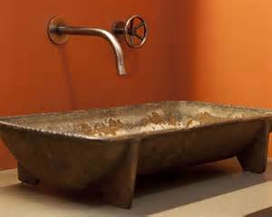 industrial bathroom sink rustic bath industrial design bathroom