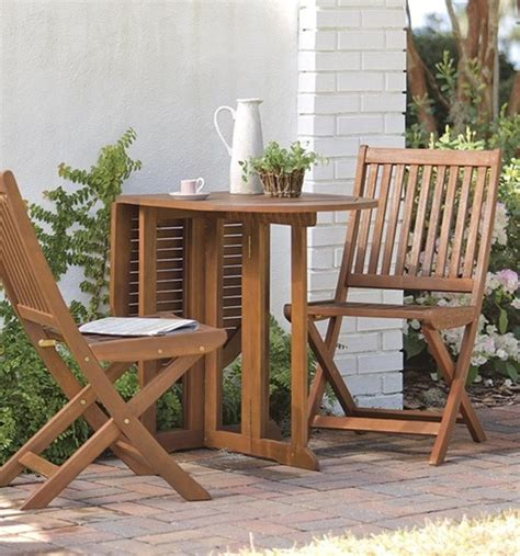 Small Outdoor Bistro Table Wood Bistro Furniture Sets
