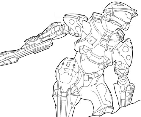 halo master chief helmet coloring pages coloring pages