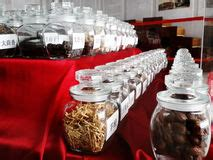 traditional chinese medicine shop  singapore editorial