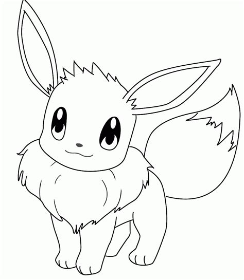 eevee coloring pages to print pokemon coloring page eevee coloring pics coloring home