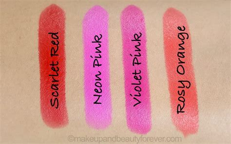 Lipstik Maybelline Rosy Matte all maybelline matte lipsticks review shades swatches price and details