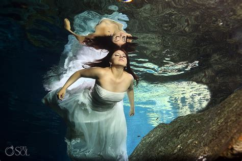 trash the dress trash the dress photos in the riviera maya cynthya and
