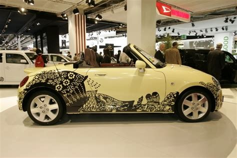 Modified Daihatsu Copen Custom Vanilla Bean Daihatsu Copen The Design Also Helps