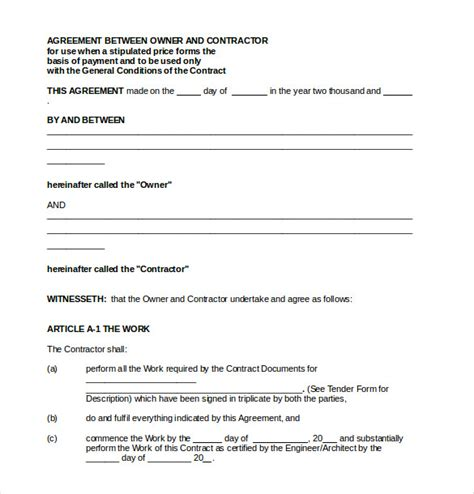 Payment Agreement Sle Business Mentor Net 15 Terms Agreement Template