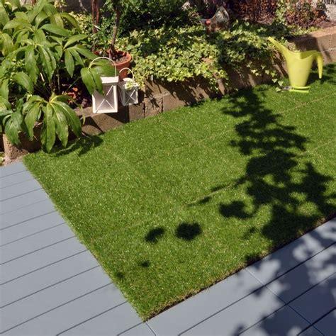 erba sintetica per giardini erba sintetica a piastrelle per prato realistico modulplate