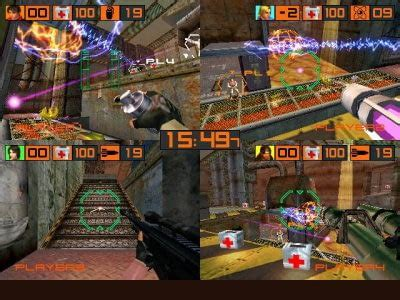 shooter game zone