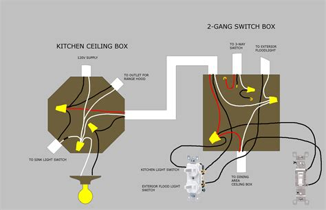 how to wire 3 light switches in one box diagram agnitum me